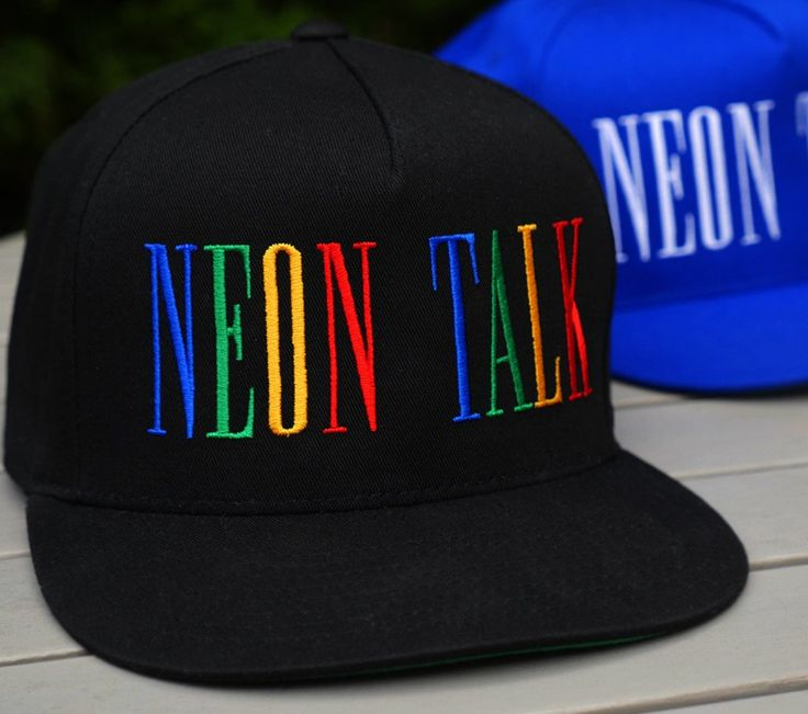 """""""Prism"""" Neon Talk Cap"""