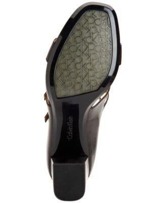 Calvin Klein Women's Caz Strappy Sandals - Black 9.5M