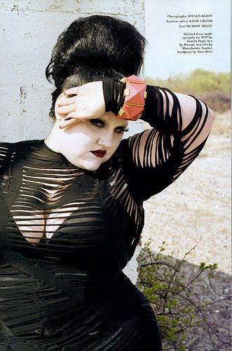 Beth Ditto. her interview with Elle magazine made me want to be her bff!!!!