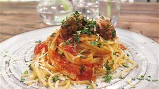 Vardagspuls recept Anette Rosvall köttbullar tomatsås