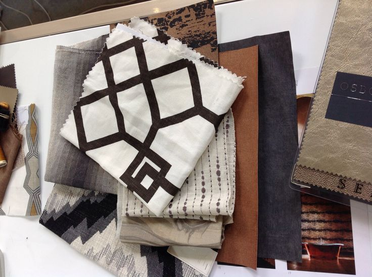 Material love, creating a scheme for a project. ScX