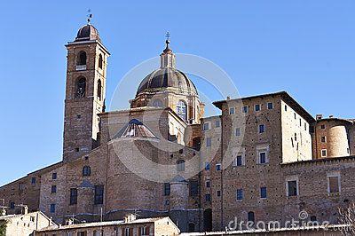 Urbino very nice city in italy
