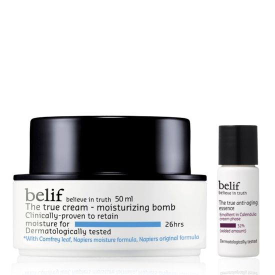 [Belif] The True Cream Moisturizing Bomb Set