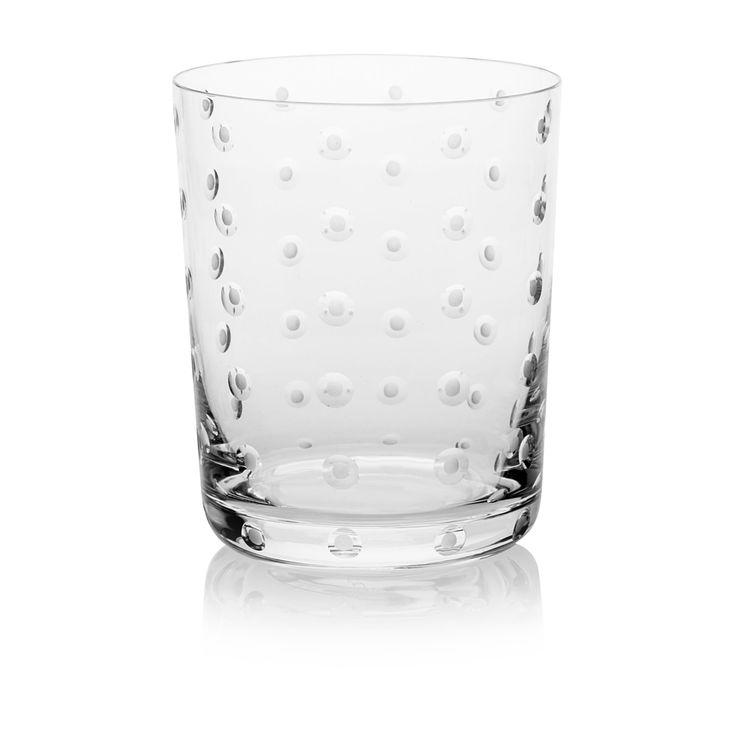 TUMBLER MEDIUM   Handmade Glass Blown Medium Tumbler, Lumino-Clear 1923, height: 100 mm   top diameter: 82 mm   volume: 330 ml   Bohemian Crystal   Crystal Glass   Luxurious Glass   Hand Engraved   Original Gift for Everyone   clarescoglass.com