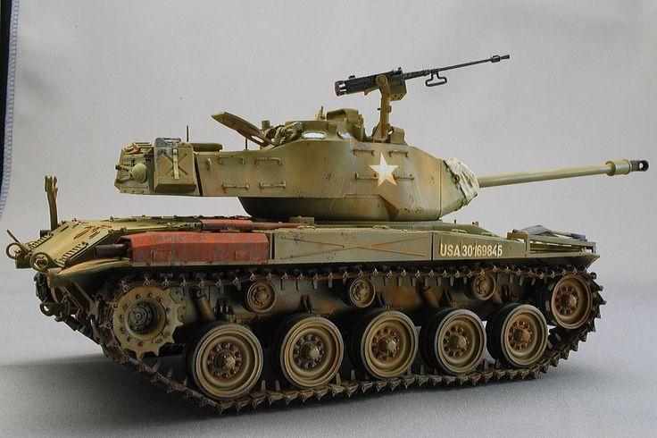 U.S.M41A3 Light Tank Walker Bulldog (AFV CLUB)
