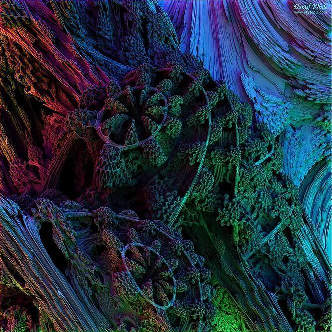 Fractal: Christmas Coral