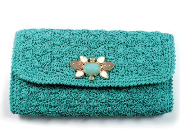 crochet clutch purse                                                                                                                                                      More