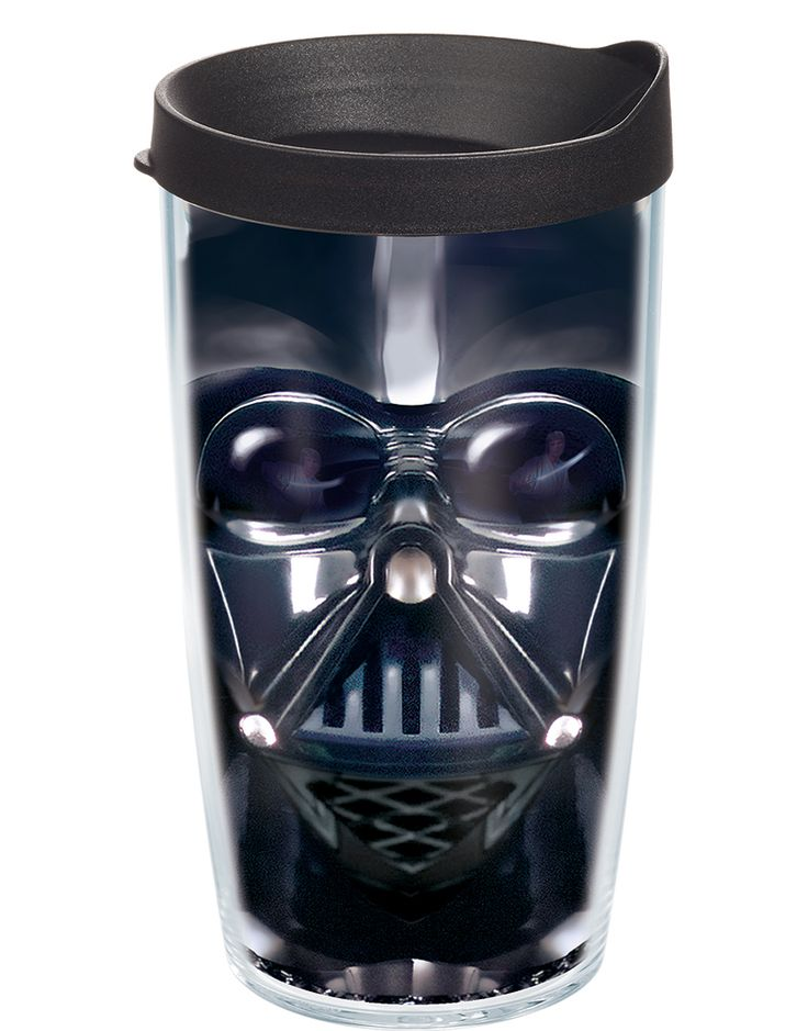 Tervis Star Wars Darth Vader Tumbler With Black Lid Keeps Hot Drinks And Cold Co Polyester Bpa Melamine Free Construction Microwave