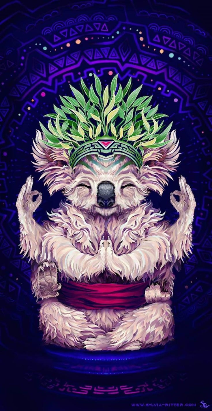 Colorfull digital illustration of animams by Sylvia Ritter