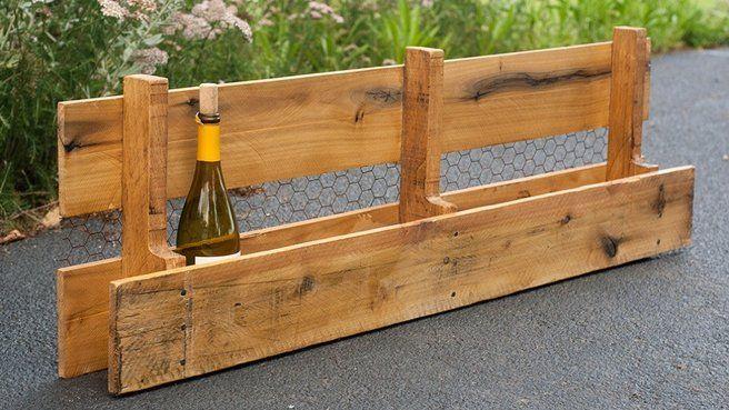 etagere à vin palettes