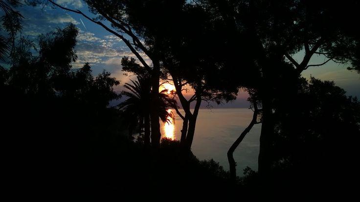 Sunrise in Varazze