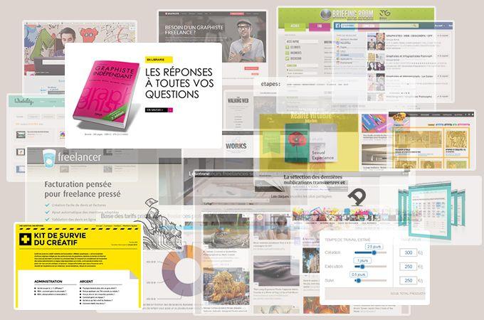 Graphistes freelances : 20 outils, calculettes, sites et livres pour bien vivre de son activité d'indépendant   KobOne