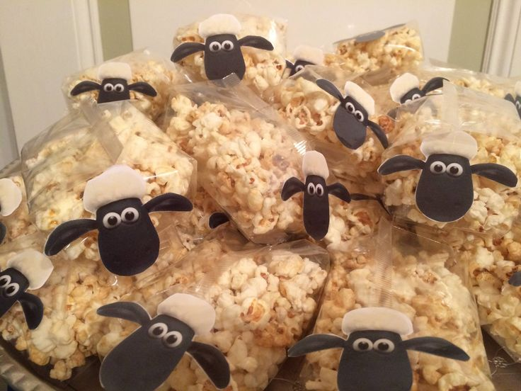 Shaun the sheep, popcorn traktatie