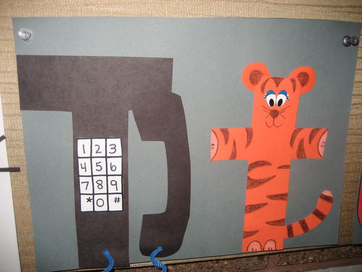 Children place the letter on the sheet, then using half circles for the rest of the tiger's features aside from the triangle nose. Description from pinterest.com. I searched for this on bing.com/images
