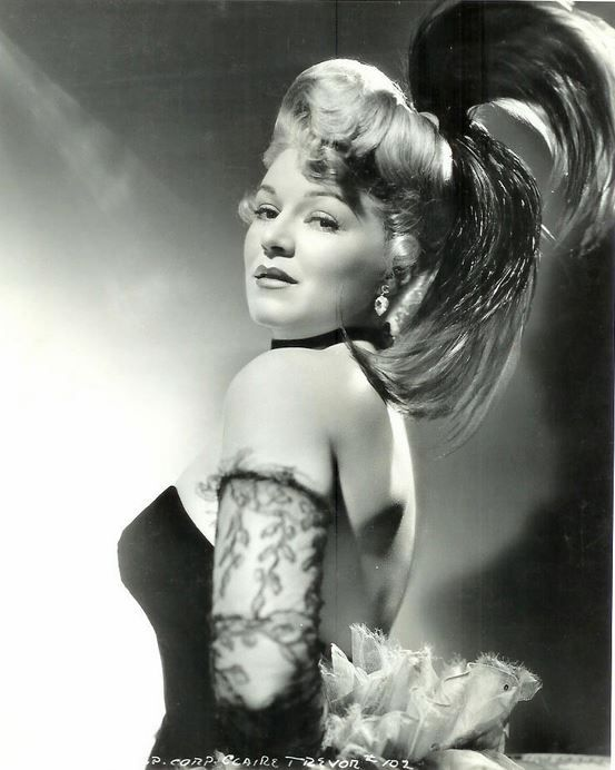 Claire Trevor | {OLD HOLLYWOOD} | Pinterest