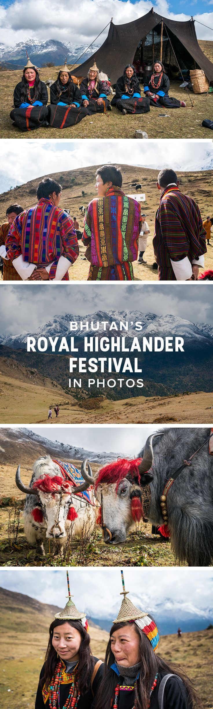 Want to get off the beaten track in Bhutan? Consider heading to the Royal Highlander Festival in Laya, the highest settlement in Bhutan. Accessible only via trekking, the two-day festival in October is a wild introduction to highlander Bhutanese culture. Click for a photo essay all about the 2017 Royal Highlander Festival, and a guide and tips to visiting future Royal Highlander Festivals in northern Bhutan.