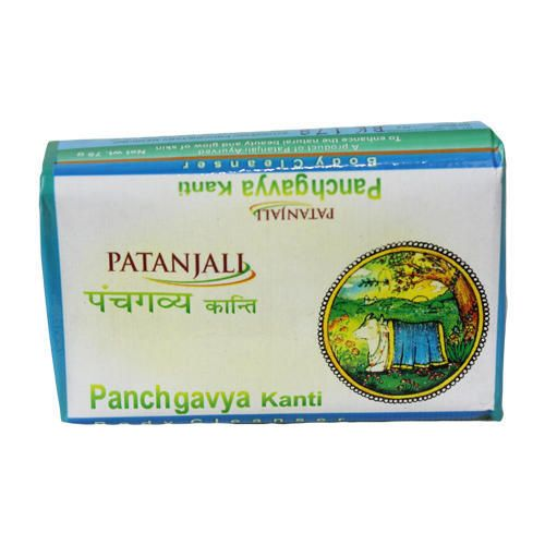 Panchagavya (cow urine, cow dung, curd, ghee, milk) components and exclusive good herbal soap. Excellent healthy products for the protection of body,skin and hair. KANTI PANCHGAVYA 75gm Price Rs.13