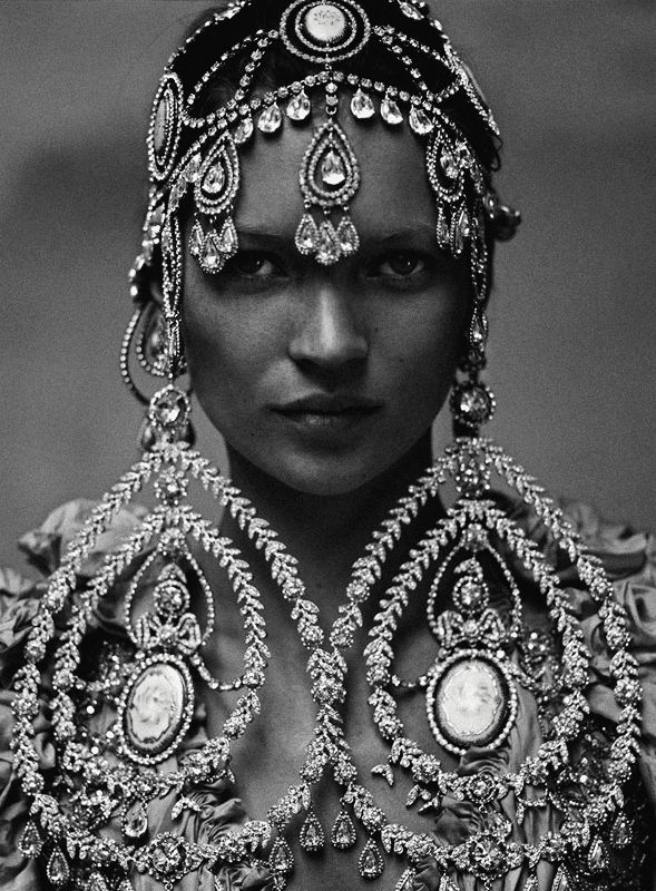 there is statement jewellery and sometimes more is more but this begs the question...when is enough, enough?...:))