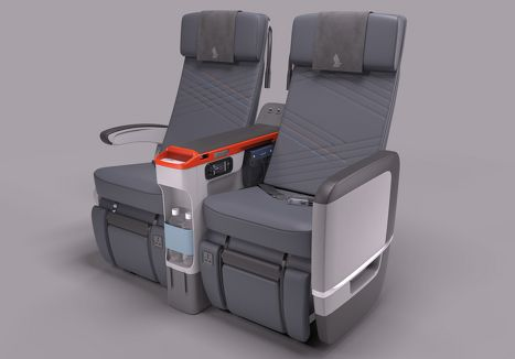 Singapore Airlines Premium Economy for Airbus A-380-800 and Boeing B-777