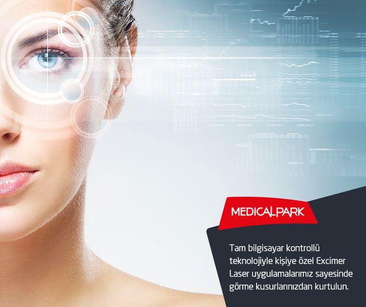 Tam bilgisayar kontrollü teknolojiyle kişiye özel Excimer Laser uygulamalarımız sayesinde görme kusurlarınızdan kurtulun. Detaylı bilgi için: http://www.goztedavimerkezi.com/excimer-lazer/excimer-laser-teknolojisi/?utm_source=365pinterest&utm_medium=365sm-pin&utm_campaign=excimerlaser #excimerlaser