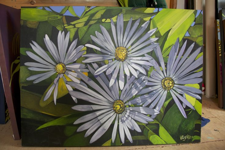 Jeremy Vaughan,  Wild Asters, 2015