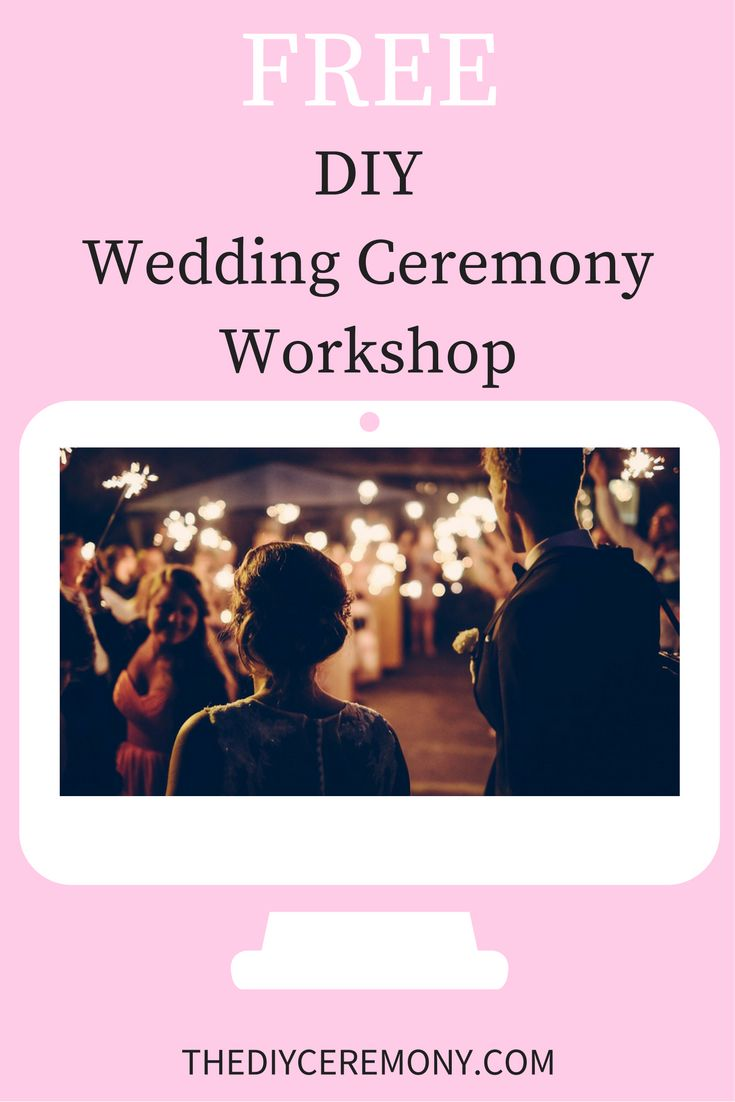 Join me for 5 Days of FREE videos and resources to help you create a wedding ceremony script that won't make your guests want to poke their eyeballs out with cocktail toothpicks. Sounds good, right?