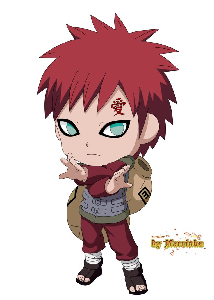 Chibi Gaara The Last by Marcinha20 on DeviantArt