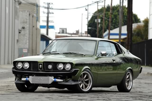 Custom Rare Toyota Corona Mark 2 Coupe Doubles as Japanese Musclecar