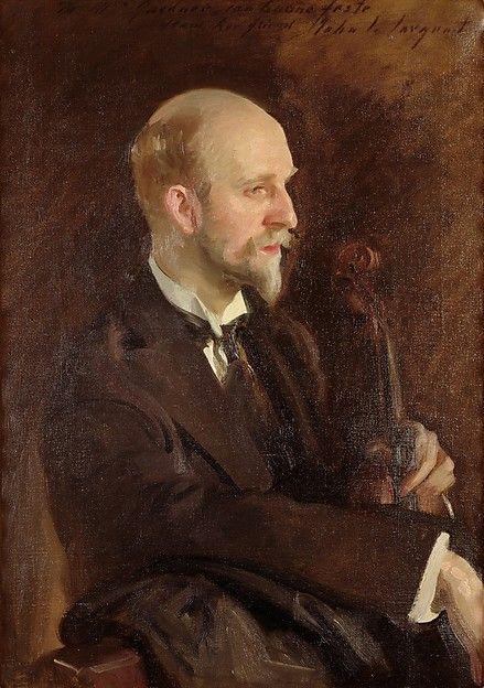 Charles Martin Loeffler Artist: John Singer Sargent (American, Florence 1856–1925 London) Date: 1903 Culture: American