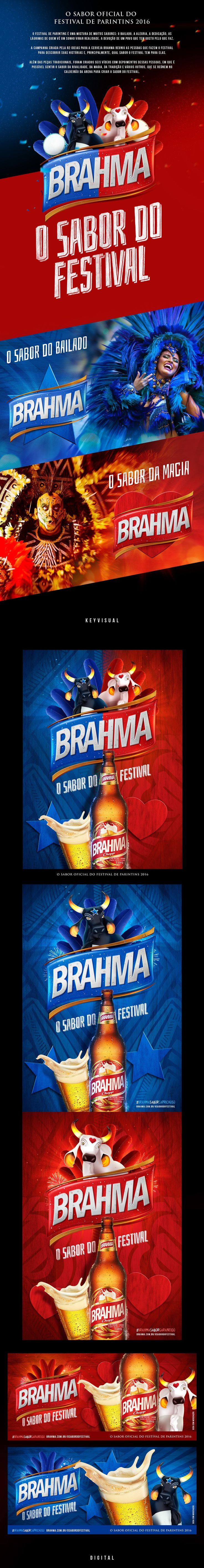 Cerveja Brahma - O Sabor do Festival on Behance
