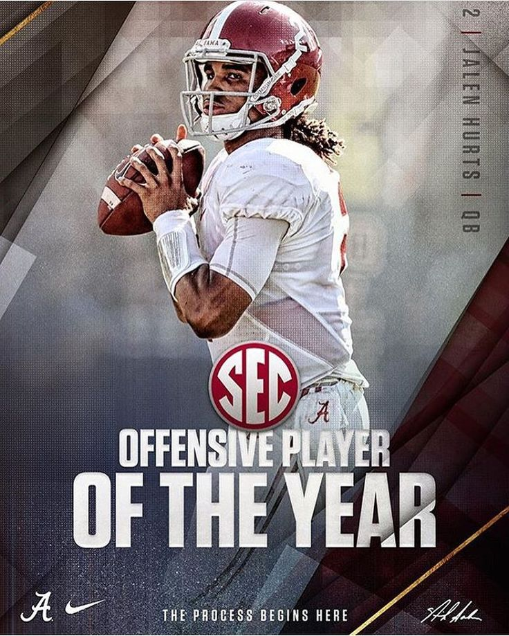 Jalen Hurts, SEC Offensive Player of the Year