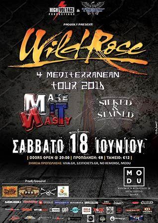 Wild Rose '4 Mediterranean Tour' ± Modu, 18/06/2016 #wild_rose #event #tour #news
