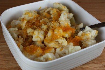cauliflower bake - I will add turmeric.  Cauliflower + turmeric= no chance of prostate cancer!