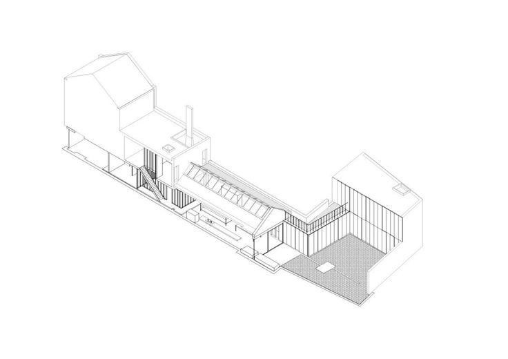 Collage House - 246 Kilburn Lane London W10 4BA - Jonathan Tuckey Design 2003