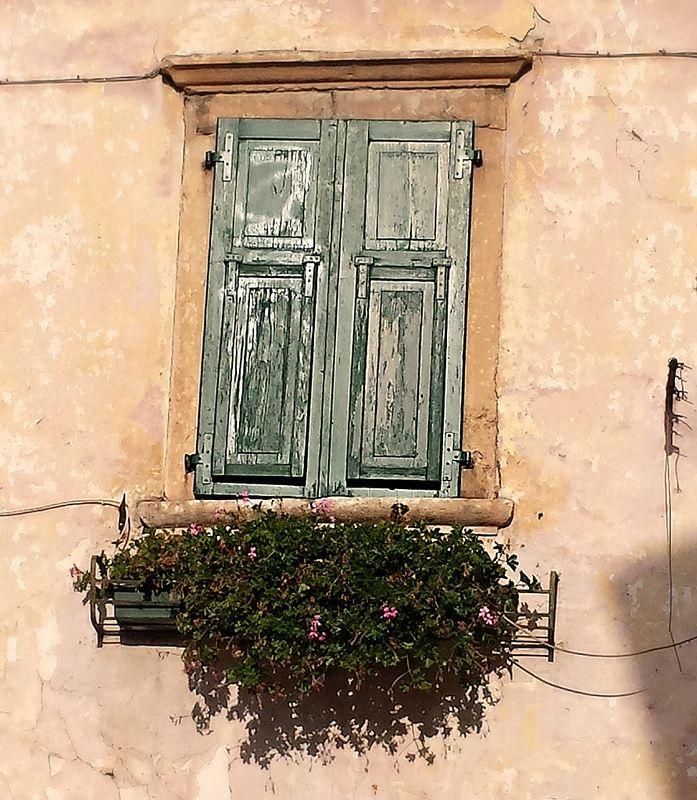 Window in Ceola  - Val di Cembra -       Trento   - Italy