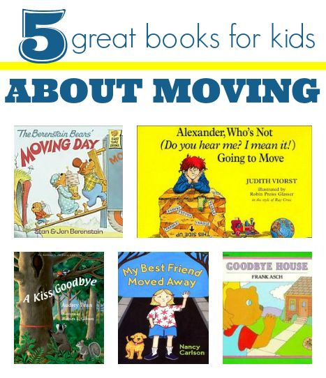 Moving? Picture books help prepare kids for the changes ahead.