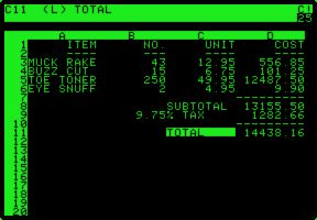 Software took center stage in 1978 when Dan Bricklin and Bob Frankston produced VisiCalc, the first electronic spreadsheet. This turned the personal computer into a useful business tool, not just a game machine or replacement for the electric typewriter.