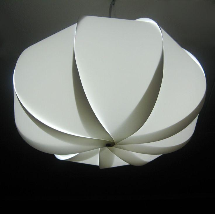 Swirl pendant light shade