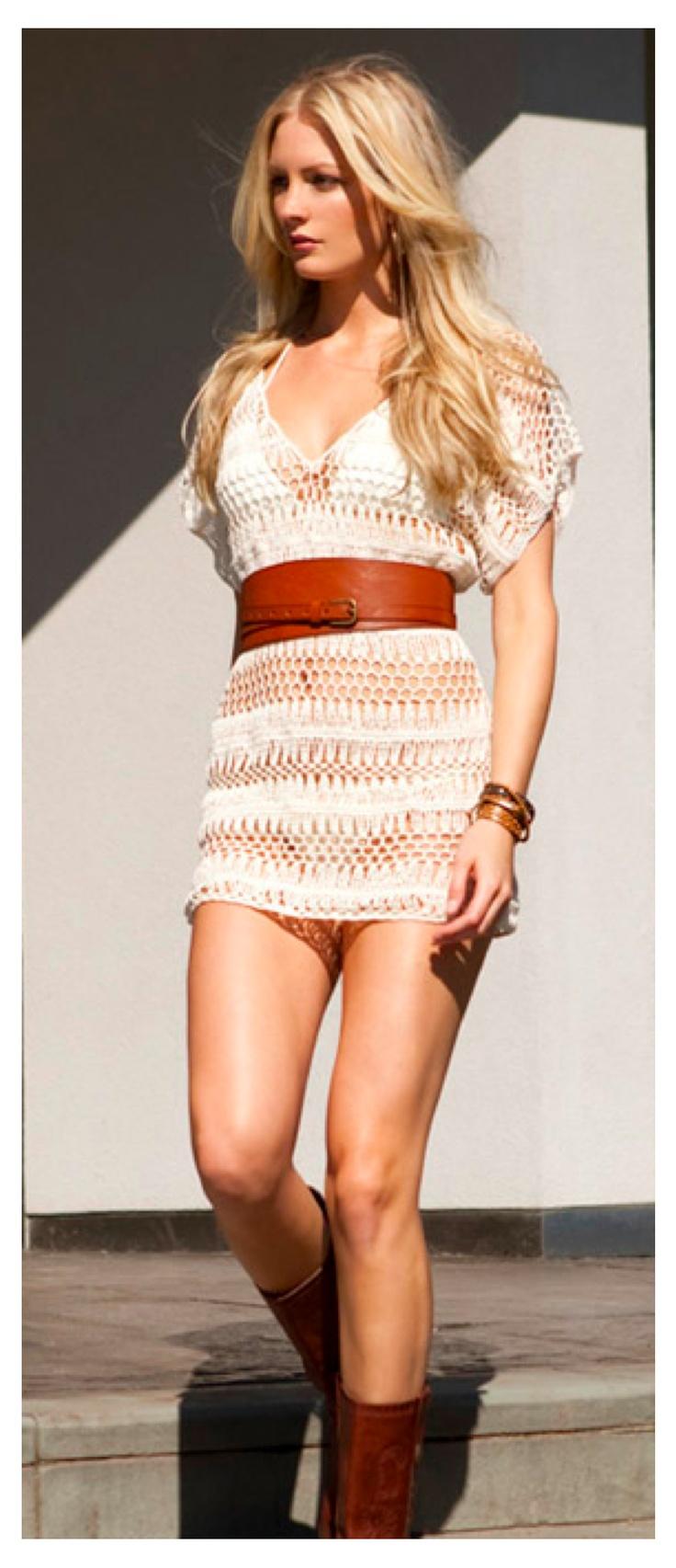 Anna Kosturova - Bardot Dress- #spaweeksummer