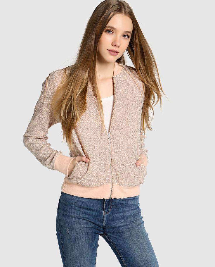 Easy Wear women's knitted bomber jacket · Easy Wear · Fashion · El Corte Inglés