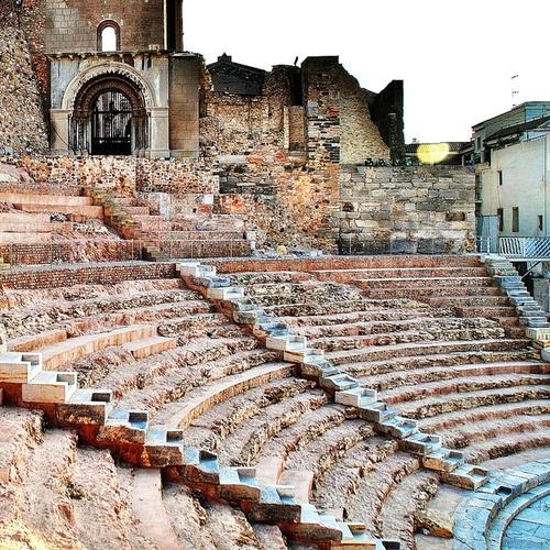 46 Teatro Romano 8863 by javier1949 on Flickr via www.dasinternet.tumblr.com