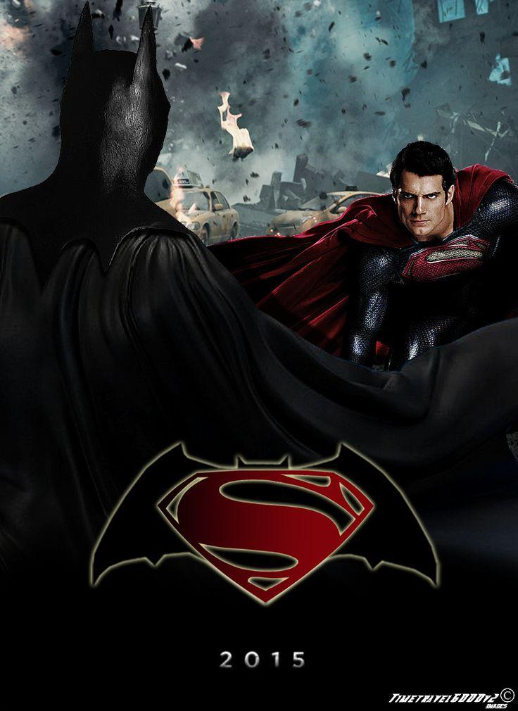 Batman vs Superman Teaser Poster by Timetravel6000v2.deviantart.com on @deviantART