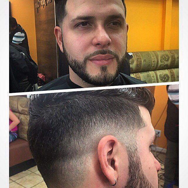 #Lowfade and #bread on my boy Alex Ortiz. #barber #barbershop #haircut #mohawk #design #fade #razor #nastybarbers #unique #part #elsiete #corte #cabello #barbero #blurryfade #barbershopconnect...