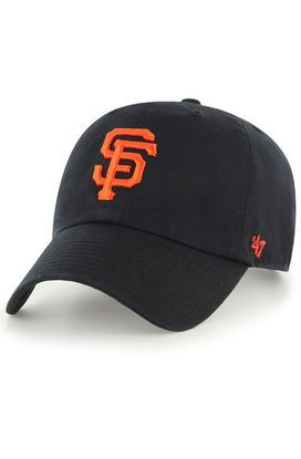 1f01edf0 The San Francisco Giants '47 Clean Up Dad Hat in Black and Orange in ...