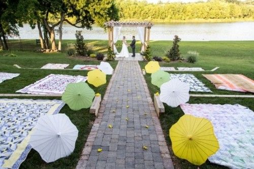 27 Clever Ways To Seat Your Wedding Guests At The Wedding Ceremony