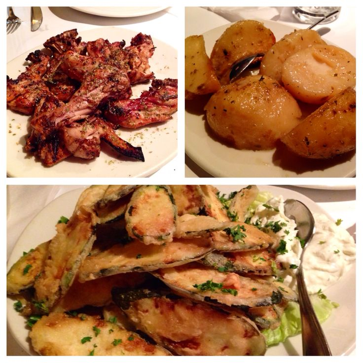 Panama: Greek restaurant in Montreal that serves the best fried zucchini with tzarziki, great chicken for one or the whole family and potatoes that are over baked