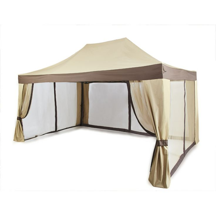 Pop Up Gazebo Escape The Sun And Bugs With This Screened In Pop Up Gazebo From Old Time Pottery