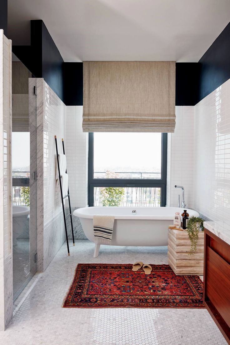 see the master bed and bath we designed for real simple bathroom