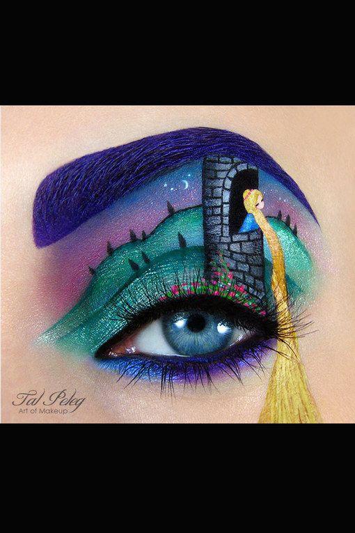 Rapunzel Augen-Make-up