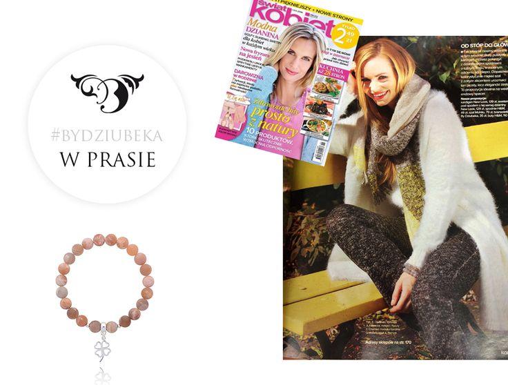 """By Dziubeka w """"Przyjaciółce"""" #bydziubeka #jewerly # #fashion #style #magazine #pressroom #press"""